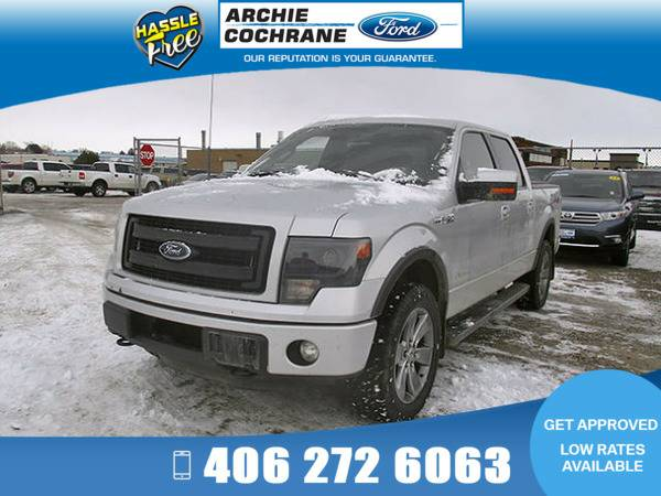 *2013* *Ford F150* *FX4 Offroad Shortbox* *Gray*