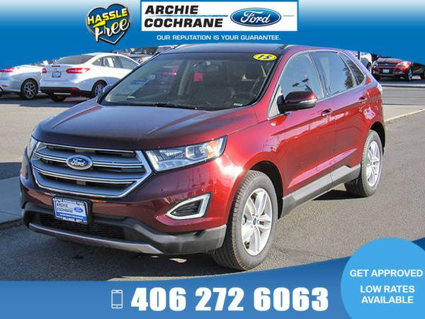 *2015* *Ford Edge* *SEL Leather Heated Sync (AWD)* *Maroon*