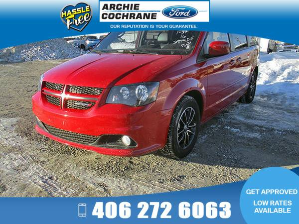 *2016* *Dodge Grand Caravan* *R/T Leather* *Red*