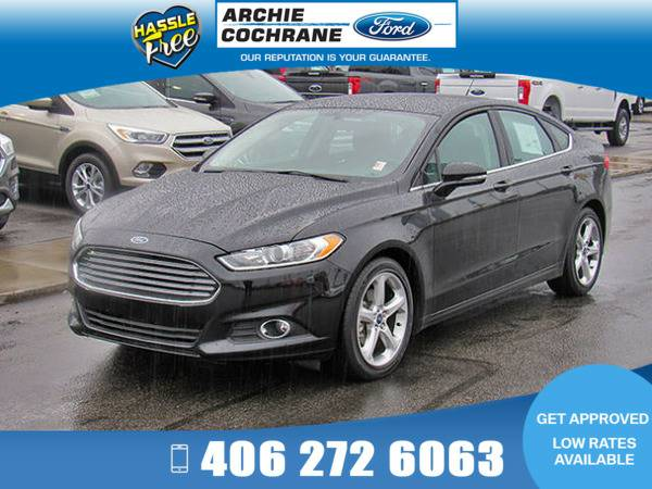 *2016* *Ford Fusion* *SE FWD* *Shadow Black*