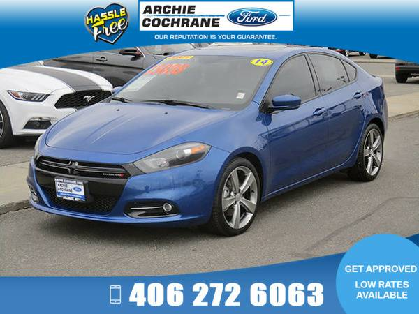 *2014* *Dodge Dart* *GT Alpine Stereo Leather* *Blue*