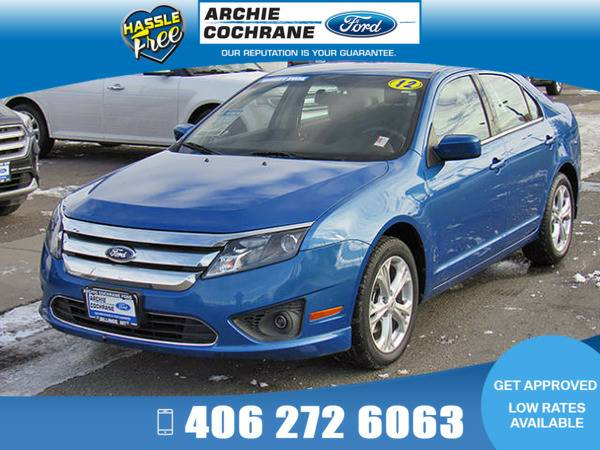*2012* *Ford Fusion* *SE Low Miles* *Blue Flame*