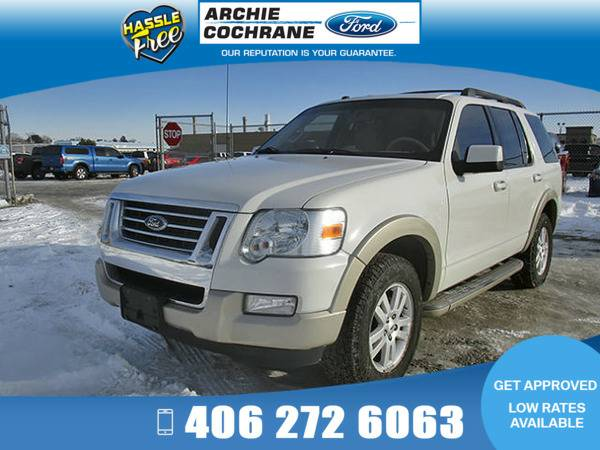 *2009* *Ford Explorer* *Eddie Bauer V6* *White*