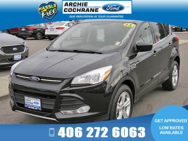 *2015* *Ford Escape* *SE 4WD Low Miles!* *Tuxedo Black*