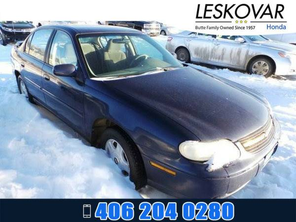 *2001* *Chevrolet Malibu* *4dr Car LS* *Blue*