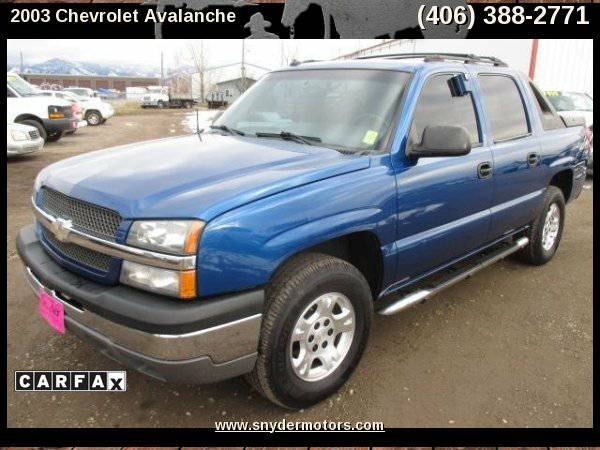 2003 Chevrolet Avalanche,CLEAN! LOADED,40 SERVICE RECORDS,4X4,5.3L