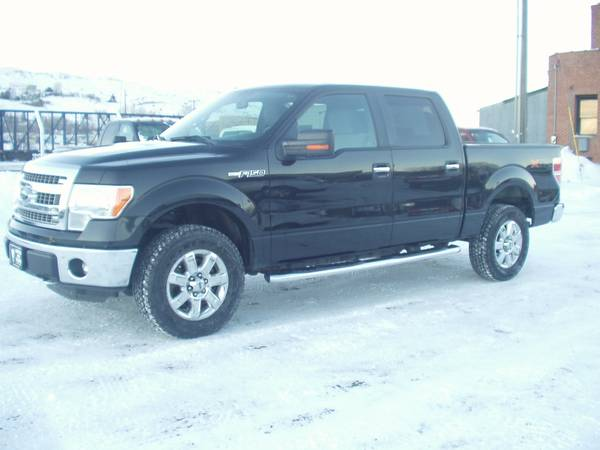 2014 FORD F150 SUPERCREW XLT 4X4