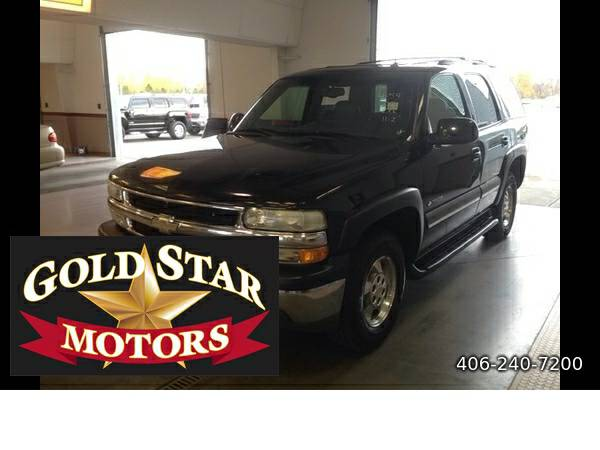 2002 CHEVROLET TAHOE LT 4WD-SEATS 7 -LOW MILES!