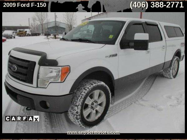 2009 Ford F-150,4x4,Leather,Heated Seats,5.4L V8