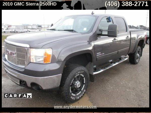 2010 GMC Sierra 2500HD, LMM DURAMAX,SUPER CLEAN! RIMS,SLT LOADED