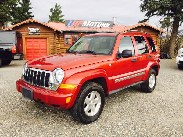 2006 Jeep Liberty Limited, Diesel w/ 120k