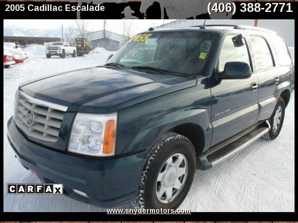 2005 Cadillac Escalade AWD,Carfax 1 Owner,6.0L V8,Nav/Leather