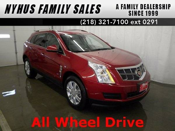 2012 *Cadillac SRX* Luxury (Crystal Red Tintcoat)
