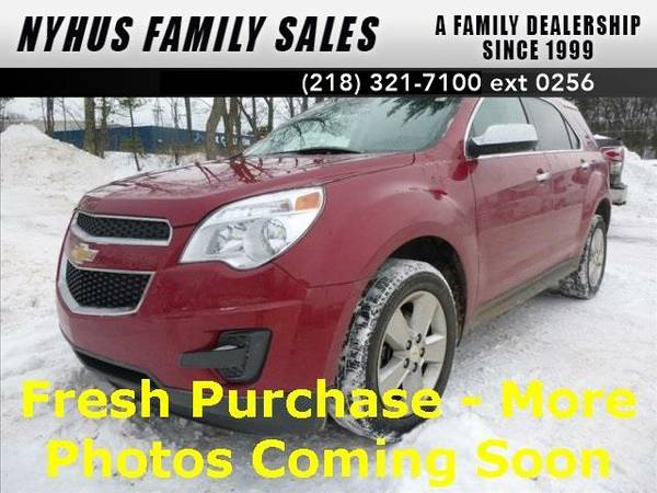 2014 *Chevrolet Equinox* LT (Crystal Red Tintcoat)