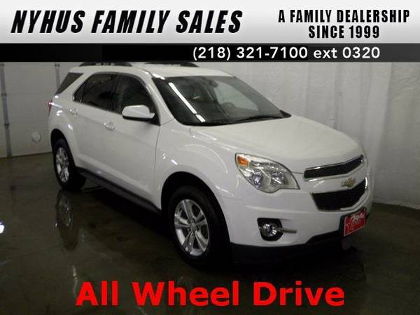 2012 *Chevrolet Equinox* LT (Summit White)