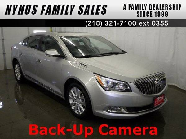 2014 *Buick LaCrosse* Leather Group (Quicksilver Metallic)