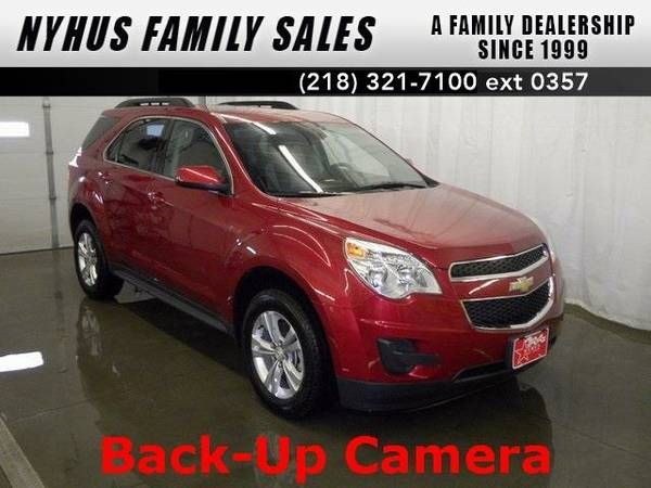 2015 *Chevrolet Equinox* LT (Crystal Red Tintcoat)