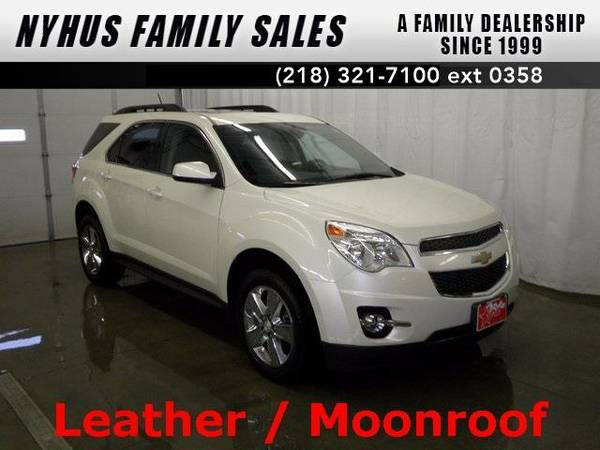 2013 *Chevrolet Equinox* LT (White Diamond Tricoat)