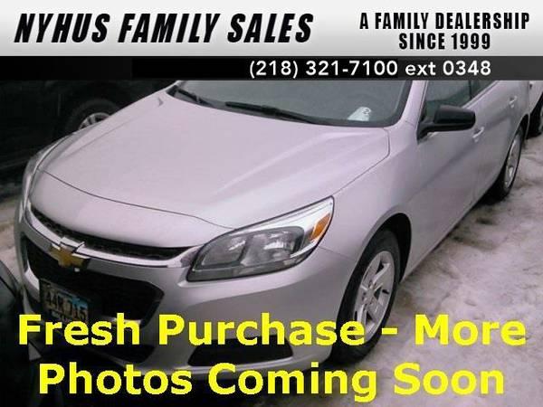 2016 *Chevrolet Malibu Limited* 1FL (Silver)