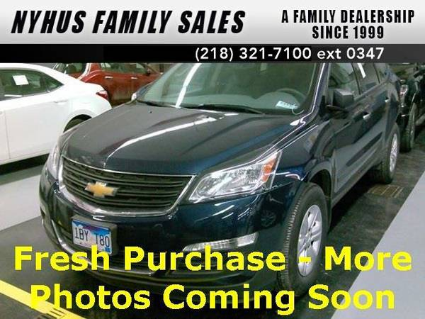 2015 *Chevrolet Traverse* LS (Blue Velvet Metallic)