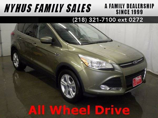 2013 *Ford Escape* SE (Frosted Glass Metallic)