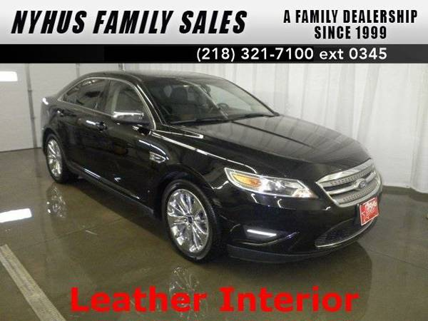 2012 *Ford Taurus* Limited (Ebony Black)