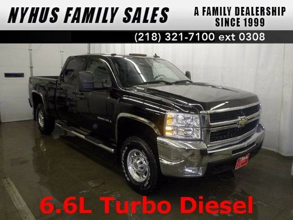 2008 *Chevrolet Silverado 2500HD* LT (Black)