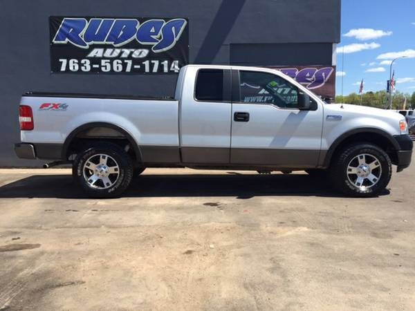 2005 Ford F150 Extended Cab FX4