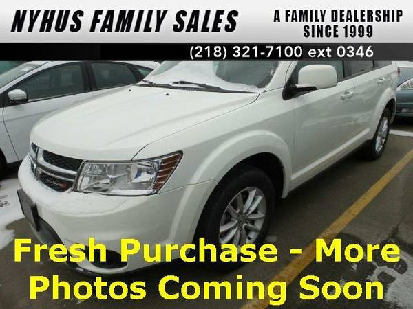 2016 *Dodge Journey* SXT (White)