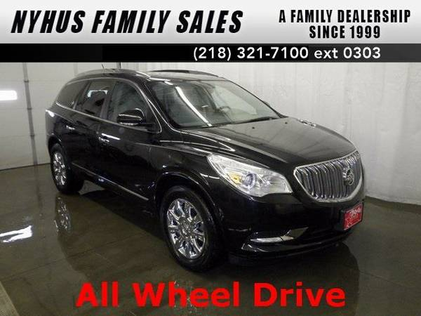2013 *Buick Enclave* Leather Group (Carbon Black Metallic)
