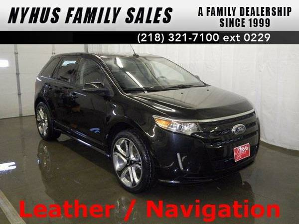 2013 *Ford Edge* Sport (Tuxedo Black Metallic)