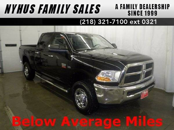 2010 *Dodge Ram 2500* SLT (Brilliant Black Crystal Pearlcoat)