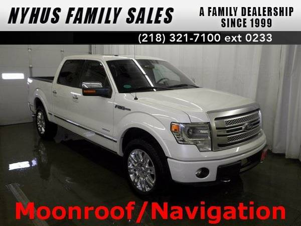 2013 *Ford F-150* Platinum (White Platinum Metallic Tri-Coat)