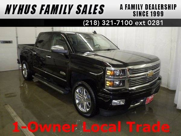 2015 *Chevrolet Silverado 1500* High Country (Black)