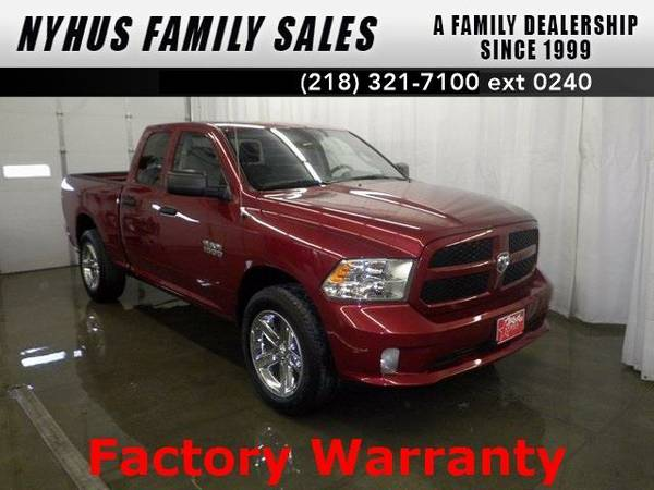 2015 *Ram 1500* Express (Deep Cherry Red Crystal Pearlcoat)