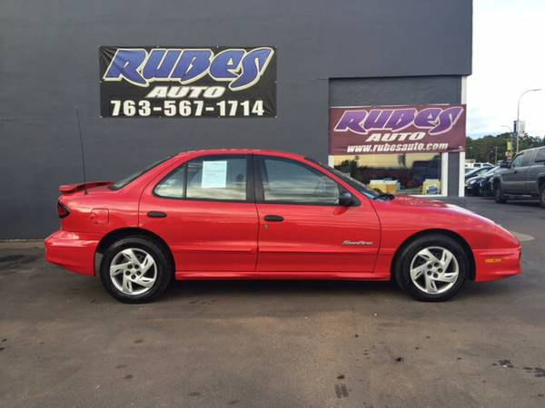 2001 Pontiac Sunfire *4-door* LOW MILES