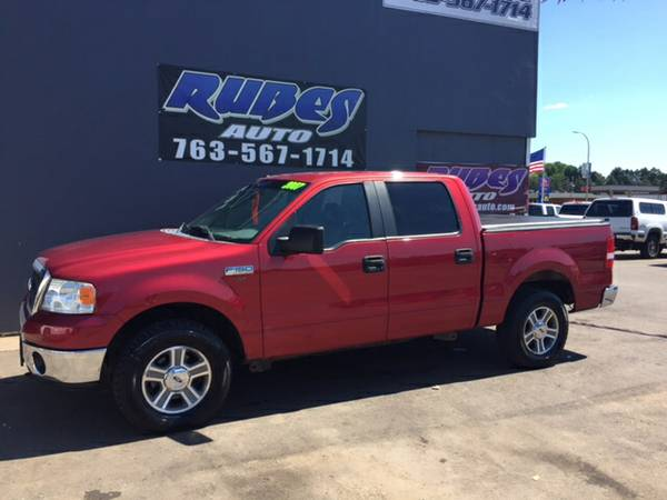 2007 Ford F150 Crew Cab LOW MILES!!
