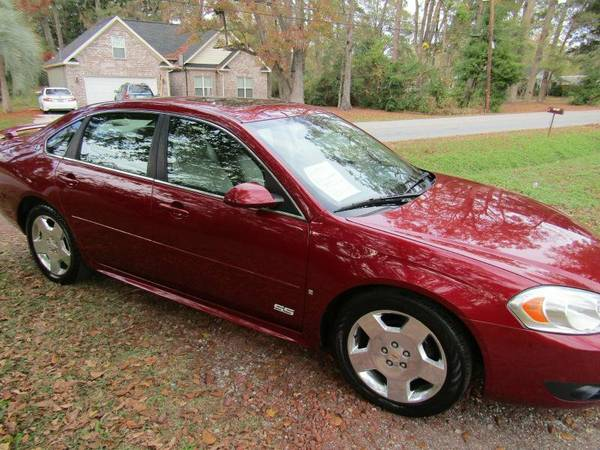 2009 Chevrolet Impala 4dr Sedan SS *Ltd Avail* - Burgundy