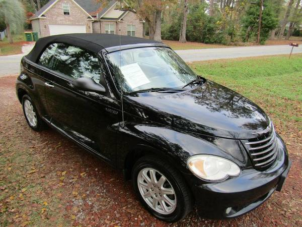 2006 Chrysler PT Cruiser 2dr Convertible Touring - Black