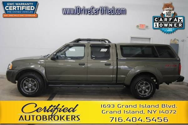 2003 *Nissan Frontier XE* 4WD *Bed Cover* We Finance All!