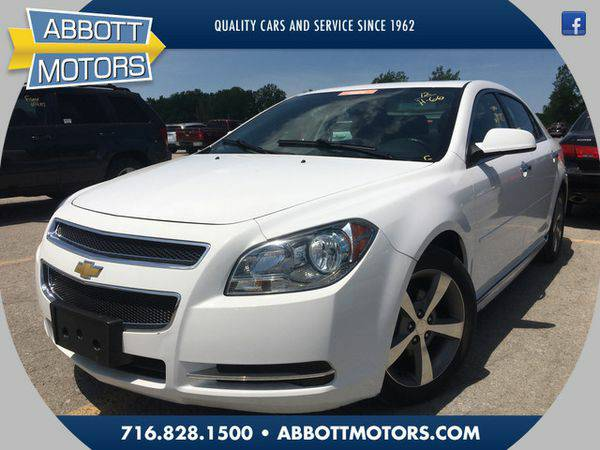 2012 *Chevrolet* *Malibu* LT w/Leather & Moonroof -BEST DEALS IN...