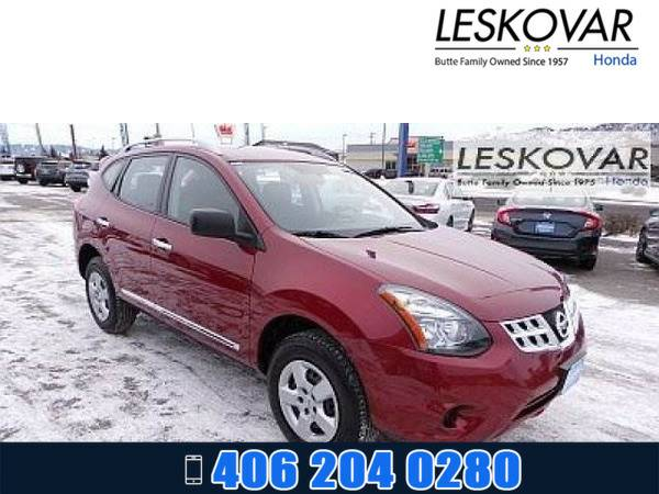 *2015* *Nissan Rogue Select* *Sport Utility S* *MEDIUM RED*