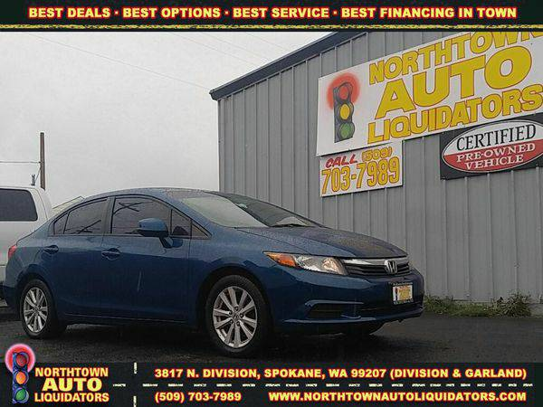 2012 *Honda* *Civic* 🚀 $500 DOWN/YOU DRIVE!!