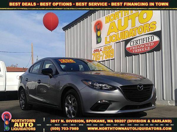 2015 *Mazda* *Mazda3* 🚀 $500 DOWN/YOU DRIVE!!