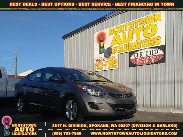 2013 *Hyundai* *Elantra* 🚀 $500 DOWN/YOU DRIVE!!