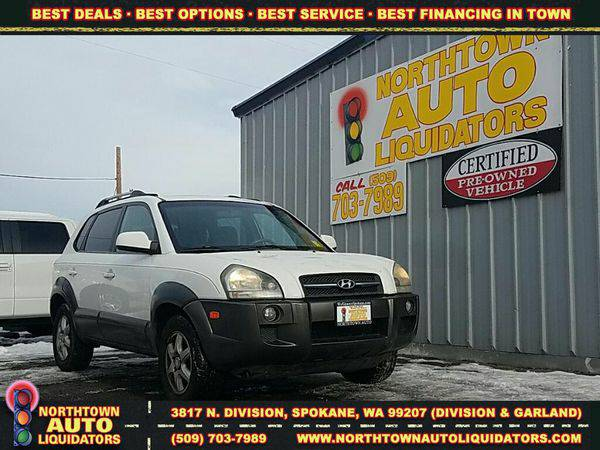2005 *Hyundai* *Tucson* 🚀 $500 DOWN/YOU DRIVE!!