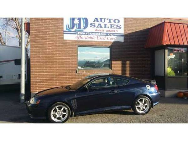 2005 Hyundai Tiburon GT- loaded - only 126K