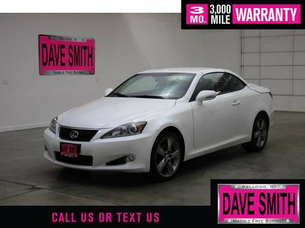 2011 Lexus IS 250 Base RWD