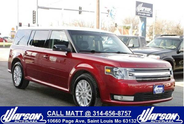 2013 Ford Flex SEL -3rd ROW- HEATED LEATHER -BEAUTIFUL COLOR -MUST SEE