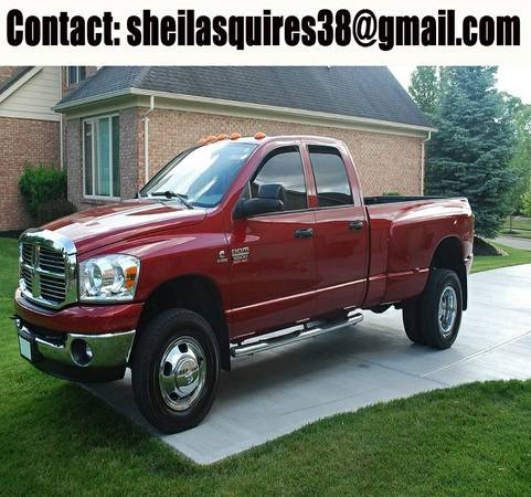 Like New! 2008 Dodge Ram Dually 6.7L